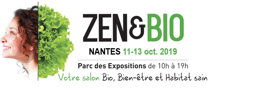 Logo salon ZEN & BIO Nantes