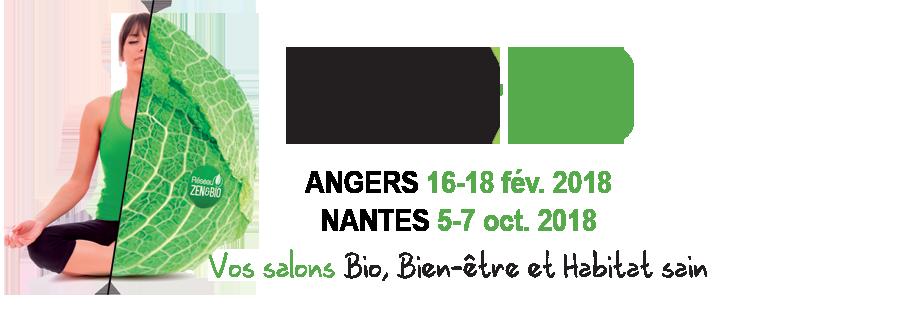 Logo salons ZEN&BIO 2018