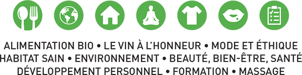 Les secteurs à retrouver sur le salon Zen & Bio Nantes